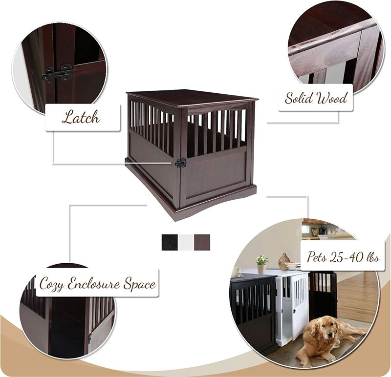 Casual Home Wooden Pet Crate 2