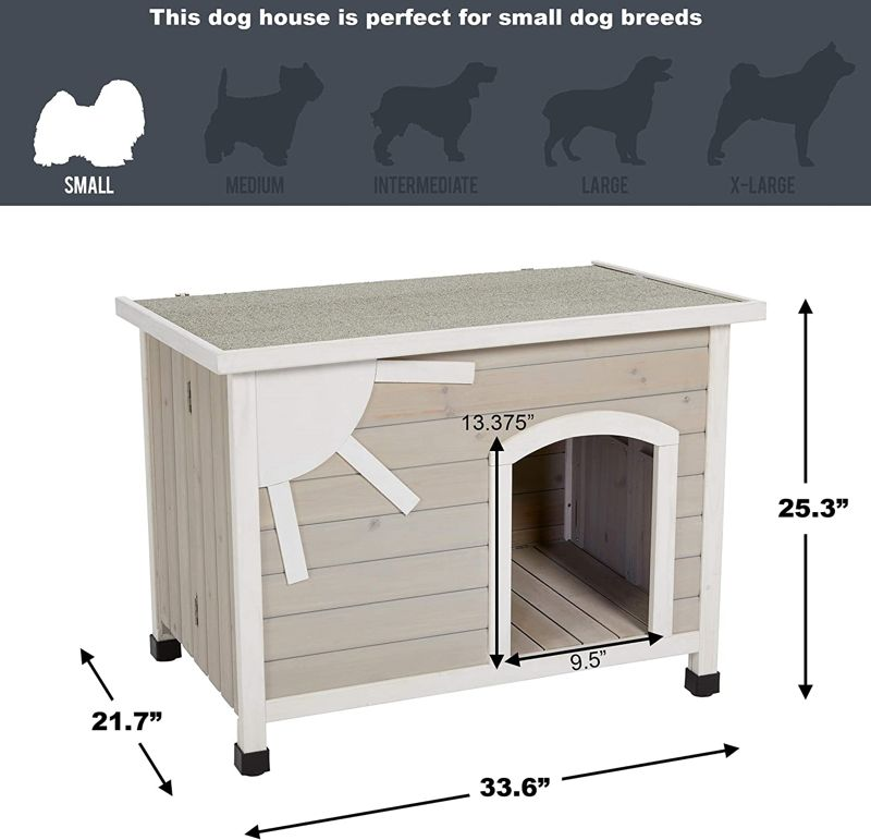 MidWest Homes for Pets Eilio Outdoor Dog House 2